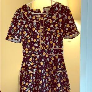 Lindy Bop Sunflower Dress